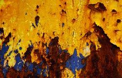 rostig textur Royaltyfria Bilder