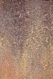 rostig textur för bakgrundsmetall Arkivbilder