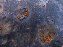 Rostig textur för gammal drevbro Royaltyfri Bild