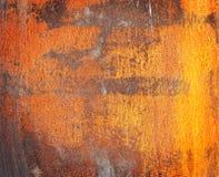 rostig textur för metall Arkivbilder
