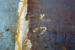 rostig textur för metall Arkivbild