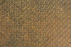 rostig textur för metall Royaltyfria Bilder