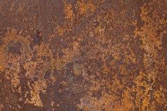 rostig textur för metall fotografering för bildbyråer