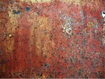 rostig textur för metall Arkivfoto