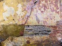 Rostig texturerad vägg royaltyfri foto