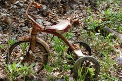 rostig trehjuling 3 Royaltyfria Bilder