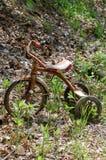 rostig trehjuling Royaltyfri Bild