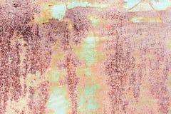 rostig und glasig Lizenzfreies Stockbild
