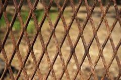 Rostig utvidgad metall Fotografering för Bildbyråer