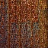 rostig vägg Royaltyfri Foto