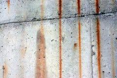 rostig vägg för bakgrund Royaltyfri Bild
