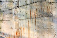 rostig vägg för bakgrund Royaltyfria Foton