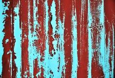 rostig vägg för bakgrund Arkivbilder
