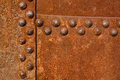rostig yttersida för metall Royaltyfria Foton