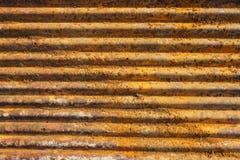 Rostig Zincgrungebakgrund Arkivbild
