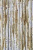 Rostiga och övergav metalldörrar Arkivfoton