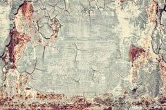 Rostige alte Beschaffenheit des Schmutzes Metall, Weinlesebild, abstrakter Hintergrund stockfoto