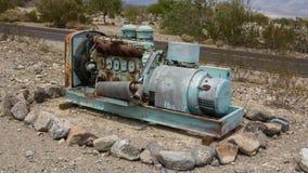 Rostige alte Maschinen Stockbild