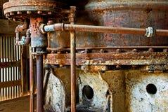 Rostige alte Maschinerie Stockbild