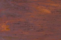 Rostige Blechtafel des Hintergrundes stockfoto
