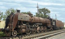 Rostige Dampflokomotive Stockbilder