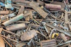 Rostiger Metallschrott Lizenzfreie Stockfotos
