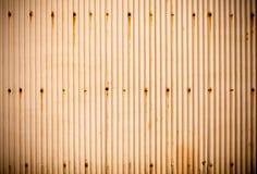 Rostige gewölbte Metallbeschaffenheit Lizenzfreies Stockbild