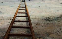 Rostige Leiter Stockbilder