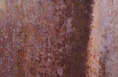 Rostige Metallbeschaffenheit lizenzfreie stockbilder