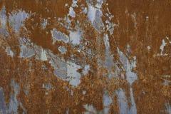 Rostige Metallbeschaffenheit stockfotos