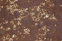 Rostige Metallbeschaffenheit Stockfoto
