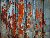 Rostige Metallbeschaffenheit oder rostiger Metallhintergrund lizenzfreie stockbilder