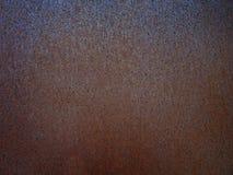 Rostige Metallbeschaffenheit oder rostiger Metallhintergrund Schmutz Retro- vint Lizenzfreie Stockfotografie