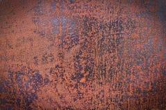 Rostige Metallbeschaffenheit, rostiger Metallhintergrund für Design Lizenzfreies Stockfoto