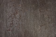 Rostige Metallbeschaffenheit starker Hintergrund der dunkelbraunen Rüstung, für 3D Lizenzfreie Stockbilder