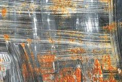 Rostige metallische Beschaffenheit Lizenzfreie Stockbilder