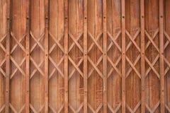 Rostige metallische Tür Lizenzfreies Stockfoto