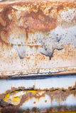 Rostige Metallkorrosionstapeten-Hintergrundbeschaffenheit Lizenzfreies Stockbild