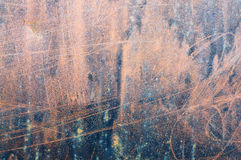 Rostige Metalloberfläche Lizenzfreie Stockbilder