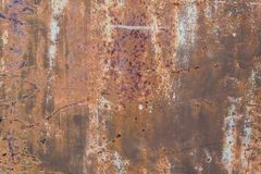 Rostige Metalloberfläche Lizenzfreies Stockfoto