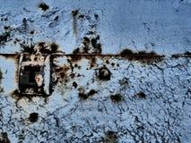Rostige Metalloberfläche stockfotografie