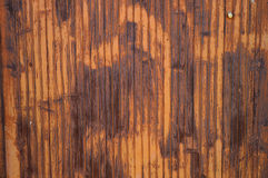 Rostige Metalltür Stockfoto