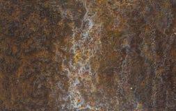 Rostige Metallteile Stockbild