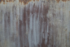 Rostige Metallwand Alte rostige Metall-plategrunge Beschaffenheit Stockbild