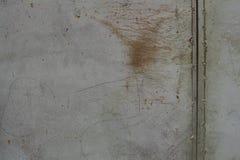 Rostige Metallwand Alte rostige Metall-plategrunge Beschaffenheit Lizenzfreie Stockfotos