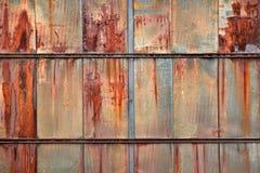 Rostige Panels Stockbild