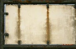Rostige Platte Stockfoto