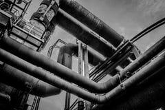 Rostige Rohre Stockfotografie