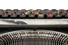 Rostige schmutzige Schreibmaschine Lizenzfreies Stockfoto