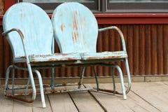 Rostige Stühle Stockfotos